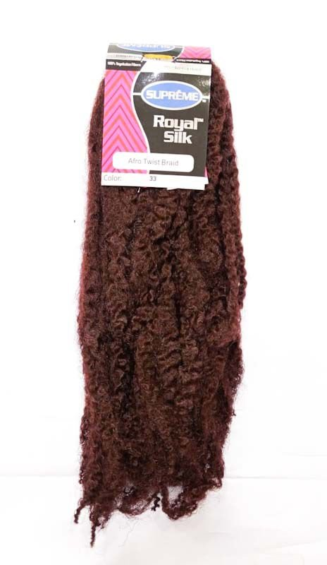 Marley Afro Twist Crochet Braids  (COR 33 ACAJU) 110G – Cherey