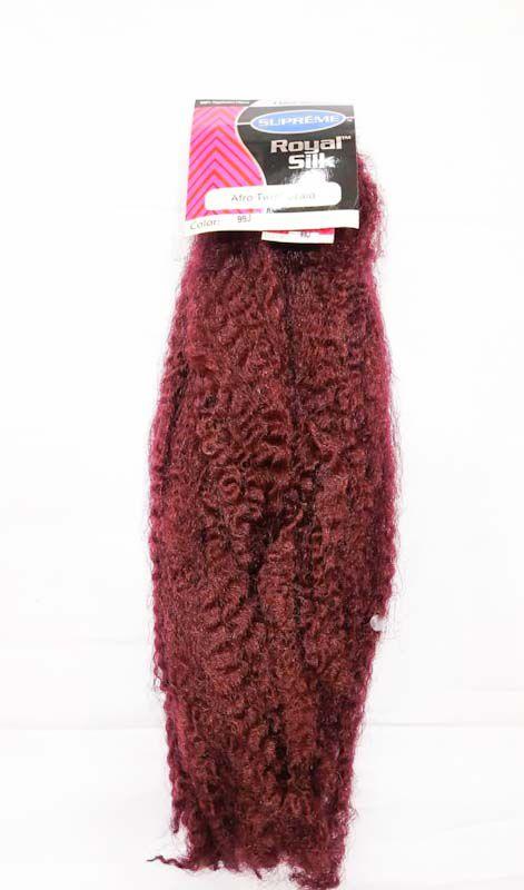 Marley Afro Twist Crochet Braids ( COR 99J MARSSALA )  110G – Cherey
