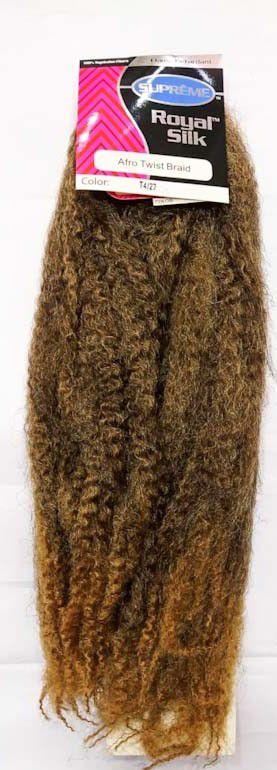 Marley Afro Twist Crochet Braids ( COR T4/27 CASTANHO COM LOIRO MEL )  110G – Cherey