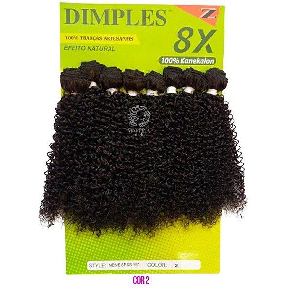 Cabelo Orgânico Nene - Dimples  (Cor 2 Castanho Escuro )