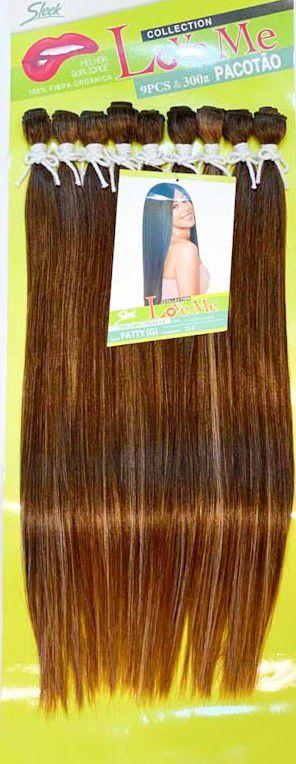 Cabelo Patty  Liso - Sleek ( Cor HL434/613+1427 - LOIRO MEL COM LOIRO CLARO )