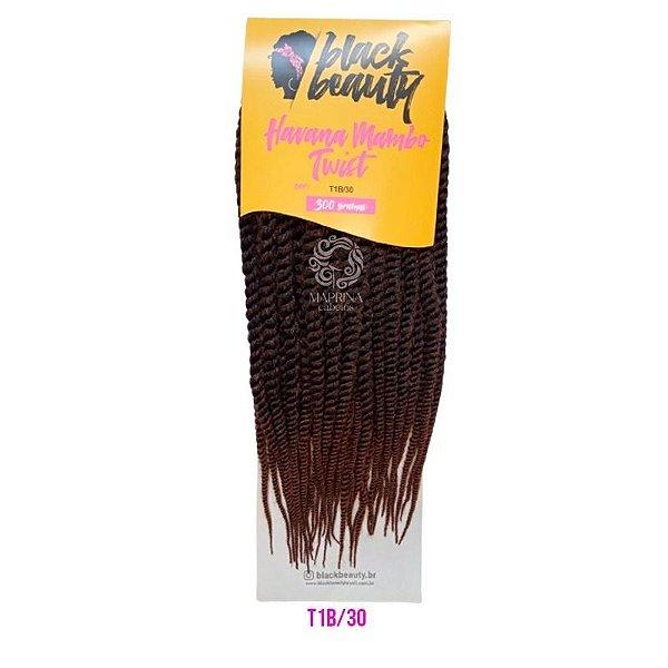 HAVANA MAMBO TWIST - Black Beauty (cor T1B/30 - Preto + )