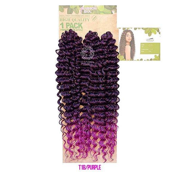 Cabelo Milla 350g (Pacotão) - True Me ( cor 1B/Purple - Preto + Roxo)