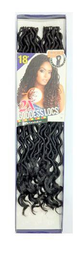 Goddess Locs 2x - Cherey (cor 1 - Preto)