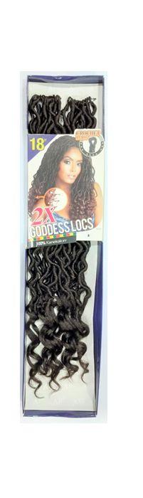 Goddess Locs 2x - Cherey (cor 4 - Castanho )