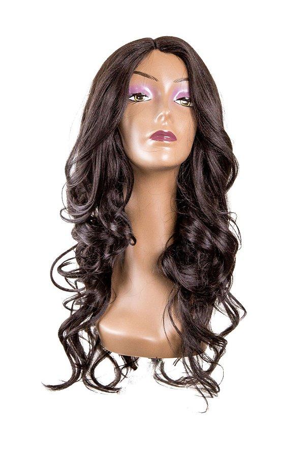 Peruca Wig Fashion RCG - L100670/6MW (cor 4 - Castanho)