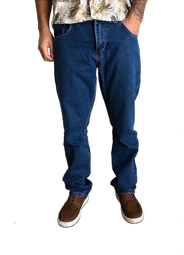 Calça Jeans Clássica Stone