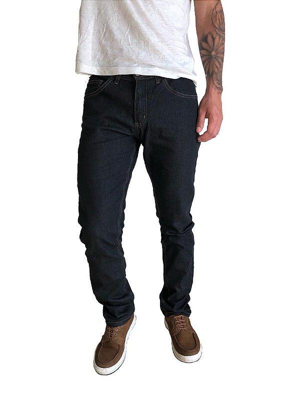 Calça Jeans Slim Black