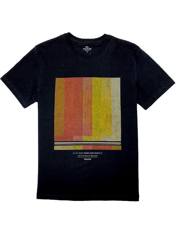 Camiseta Estampa Television