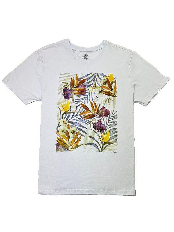 Camiseta Estampa Jardim de Inverno