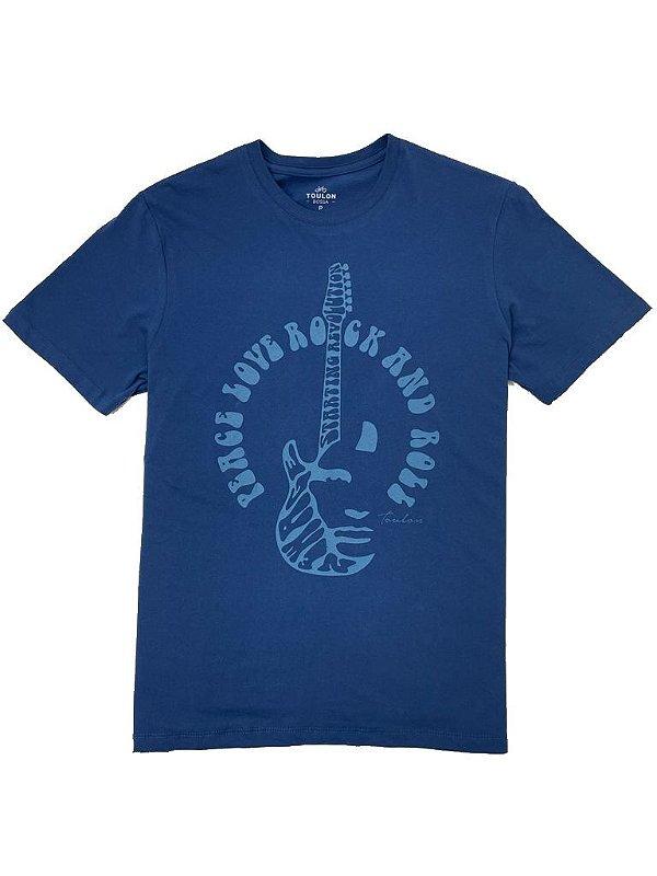 Camiseta Estampa Peace Love