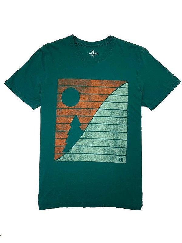 Camiseta Estampa Winter Pine