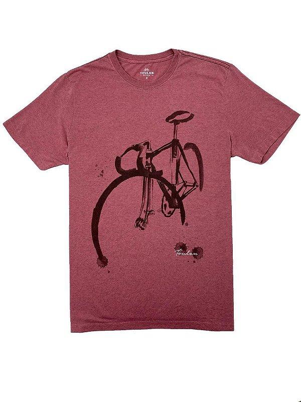 Camiseta Estampa Bike