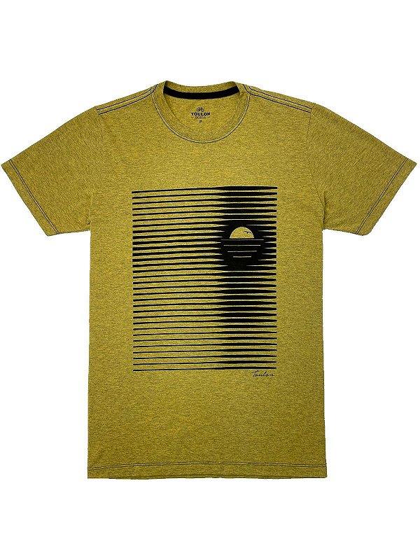 Camiseta Estonada Summer Stripes