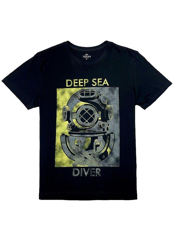 Camiseta Estampada Deep Sea