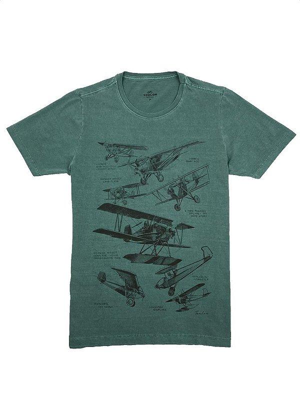 Camiseta Estonada Airplane