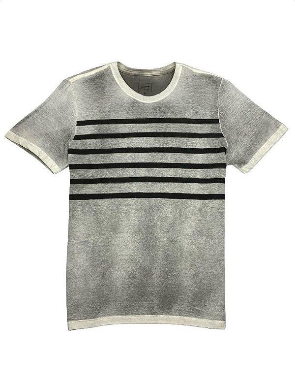 Camiseta Elaborada Stripes Spray