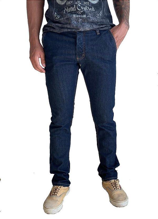 Calça Jeans Slim Chino Amaciada