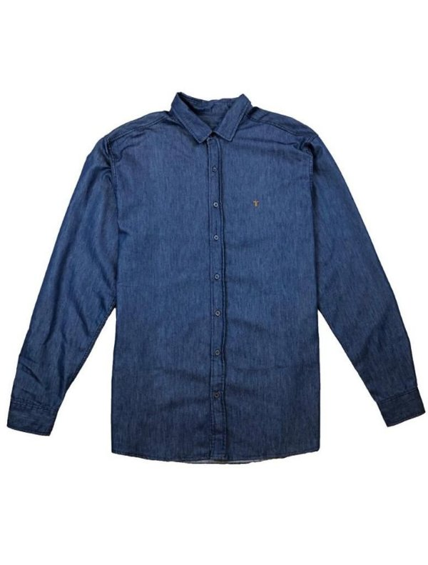 Camisa Elaborada Jeans ML