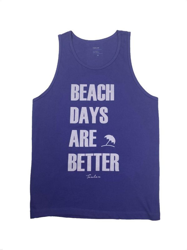 Regata Estampa Beach Days