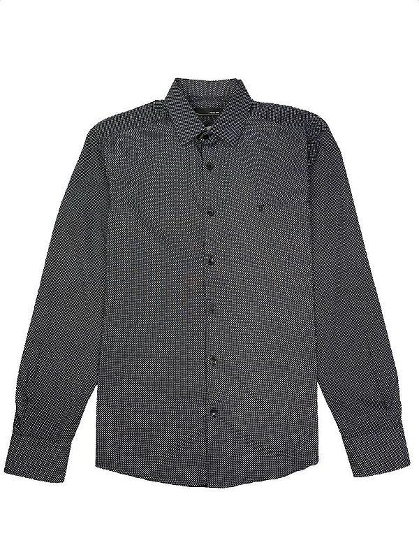 Camisa Elaborada Poá ML