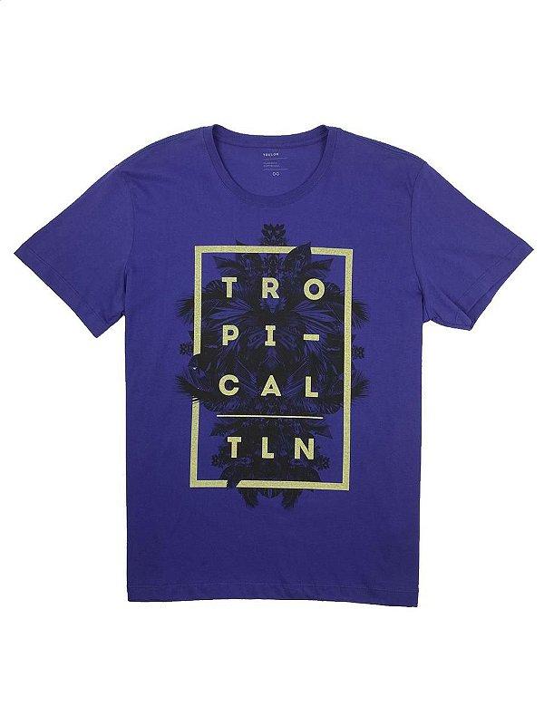 Camiseta Estampa Tropical TLN