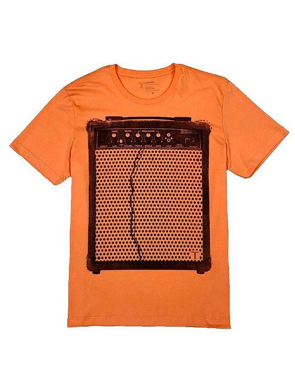 Camiseta Estampa Caixa de Som