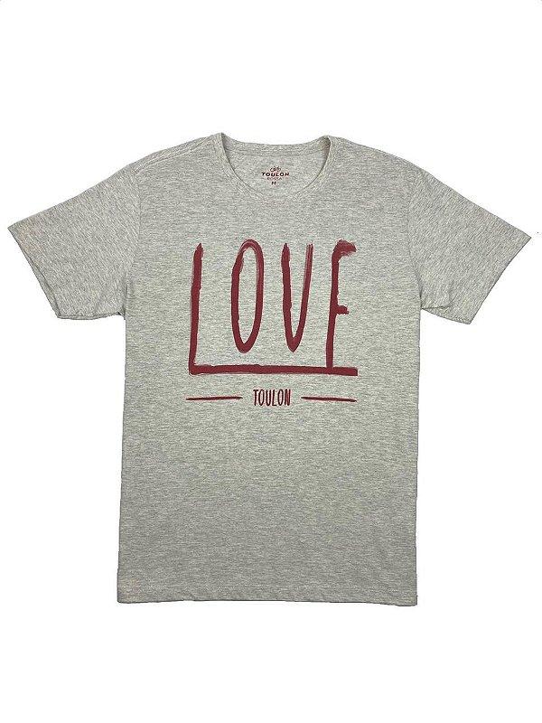 Camiseta Estampa Love