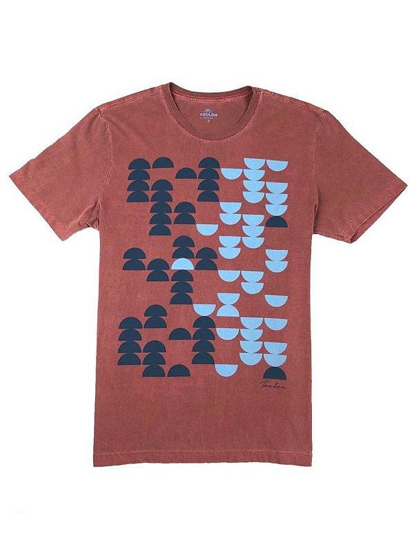 Camiseta  Estampa Estonada
