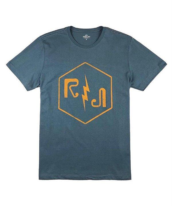 Camiseta  Estampa Raio RJ