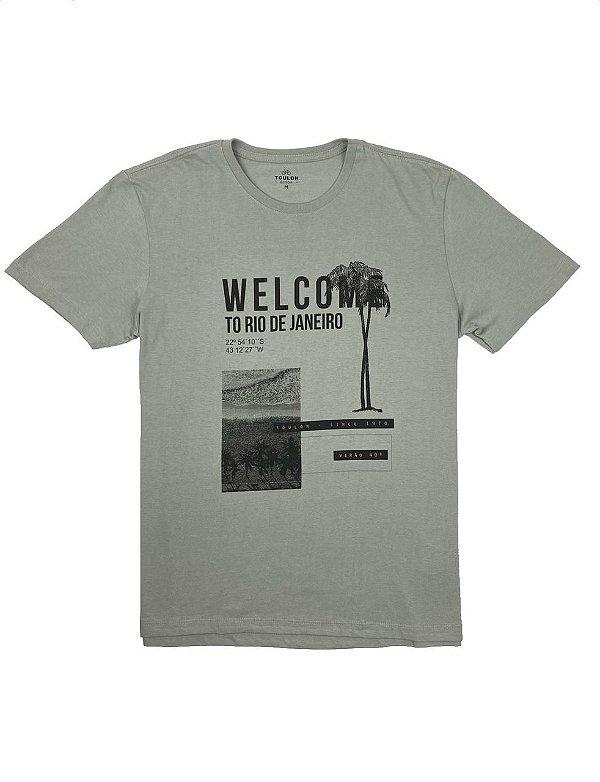 Camiseta Estampa Welcome