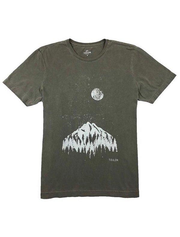 Camiseta Estampa Luar