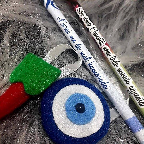 Lápis ecológico adesivado