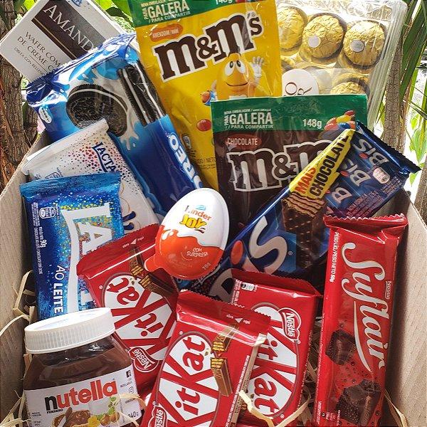 Caixa Mundo do Chocolate