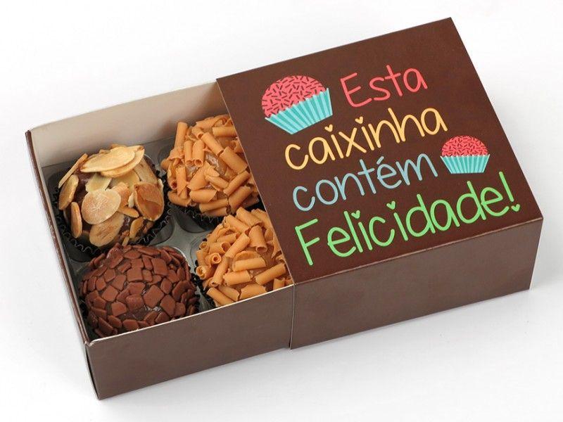 Caixa Brigadeiros Gourmet