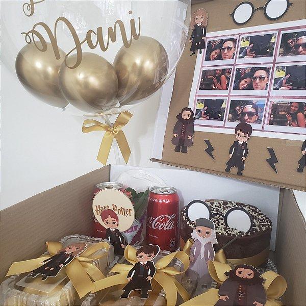 Festa na Caixa com Tema Harry Potter