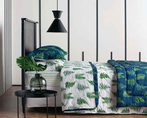 Botânica - Jogo de cama 4 Peças - 100% algodão - 150 fios
