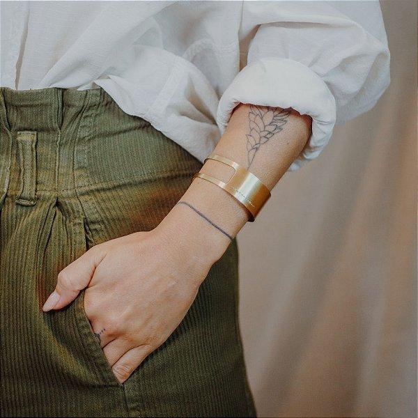 Bracelete Recorte - Almas Livres Vivem Sonhos