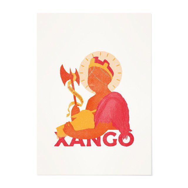 Poster A4 - Xangô
