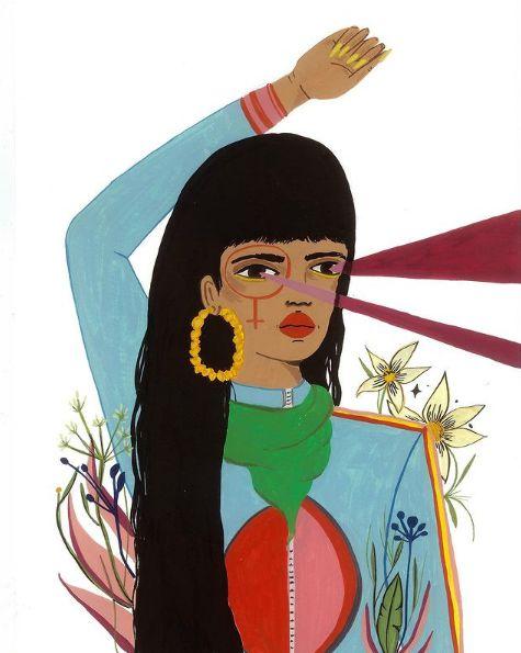 Print Mulheres Latinoamericanas