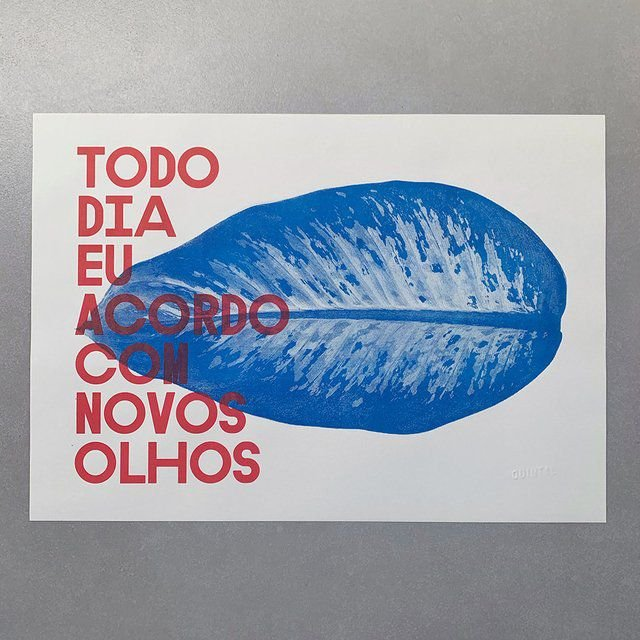 Print A3 - Novos Olhos