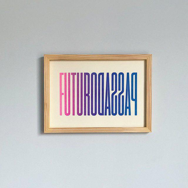 Print A4 - Futuro Passado