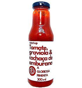Ketchup de Tomate, Graviola & Cachaça de Amburana