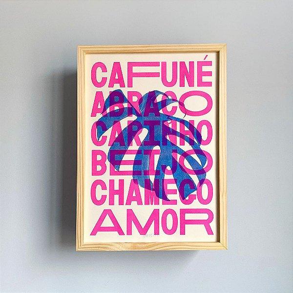 Carinhoso | Print