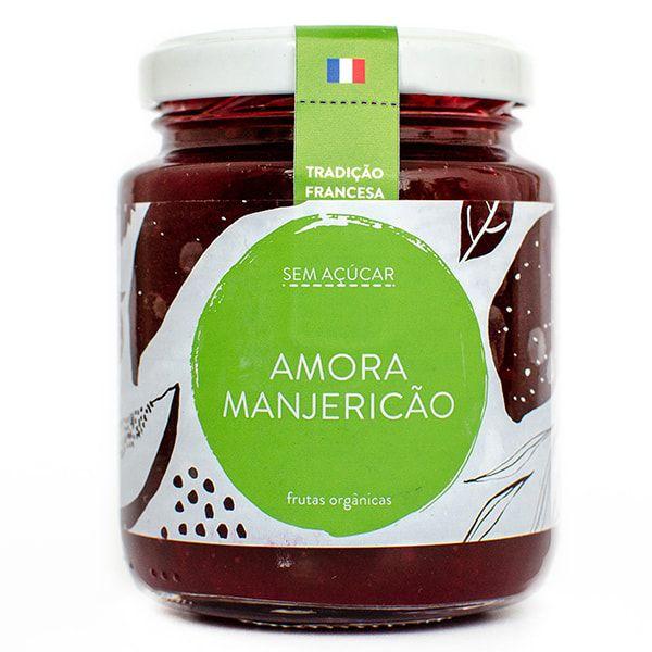 Geleia de Amora, Manjericão (Sem adição de Açúcar)