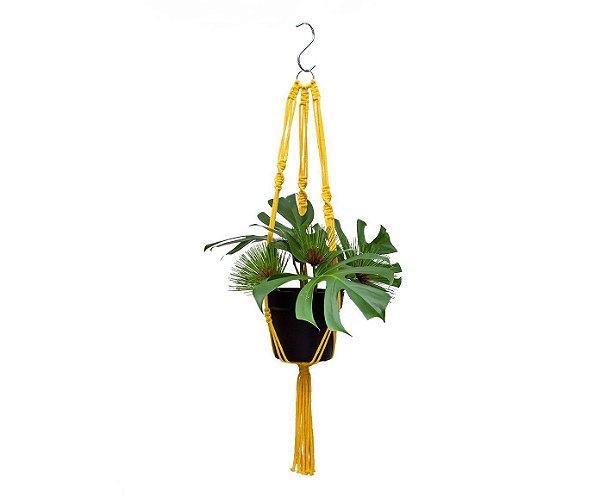 Hanger Clean Algodão Amarelo| 100cm