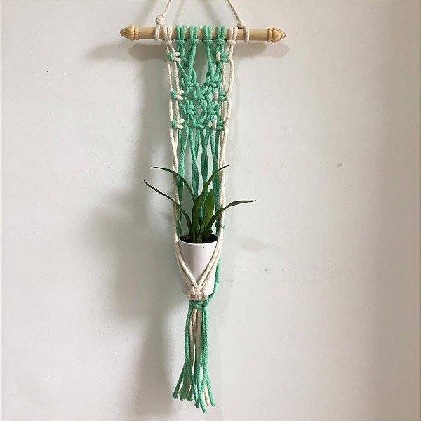 Mini Wall Hanger Verde | 65cm x 15cm
