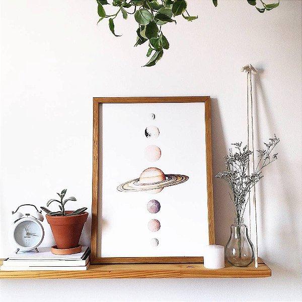 Saturno e Luas | QUADRO