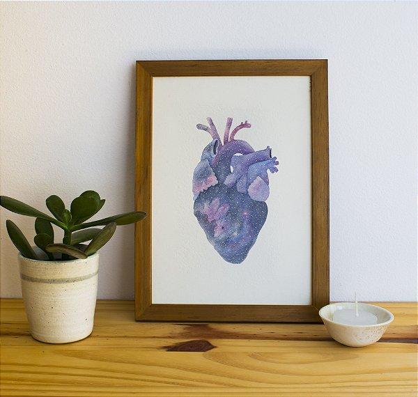 Coração Cósmico | QUADRO