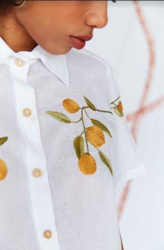 Camisa Off White Limão